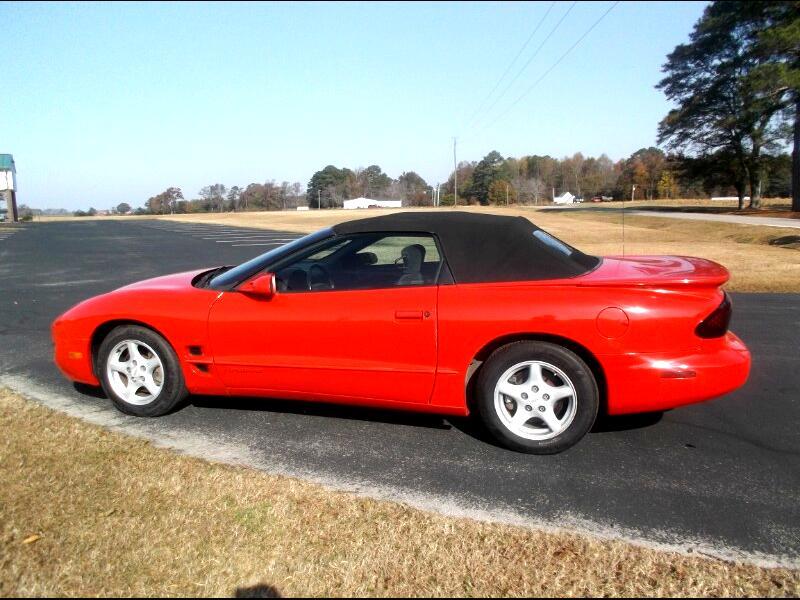 Pontiac Firebird Convertible 2000