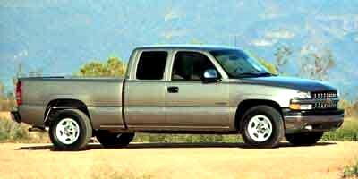 "Chevrolet Silverado 1500 4dr Ext Cab 143.5"" WB LS 2000"