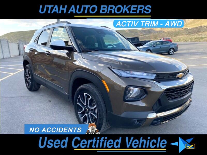 Chevrolet TrailBlazer ACTIV AWS 2021