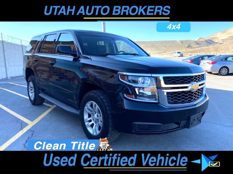 Chevrolet Tahoe 4WD 2015
