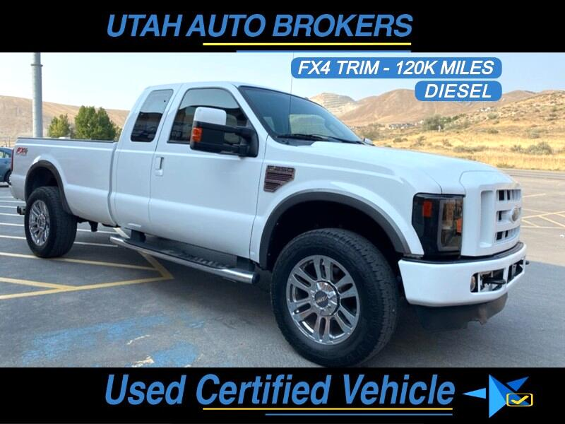 Ford F-250 SD FX4 SuperCab 2008
