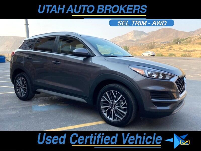 Hyundai Tucson SEL AWD 2020