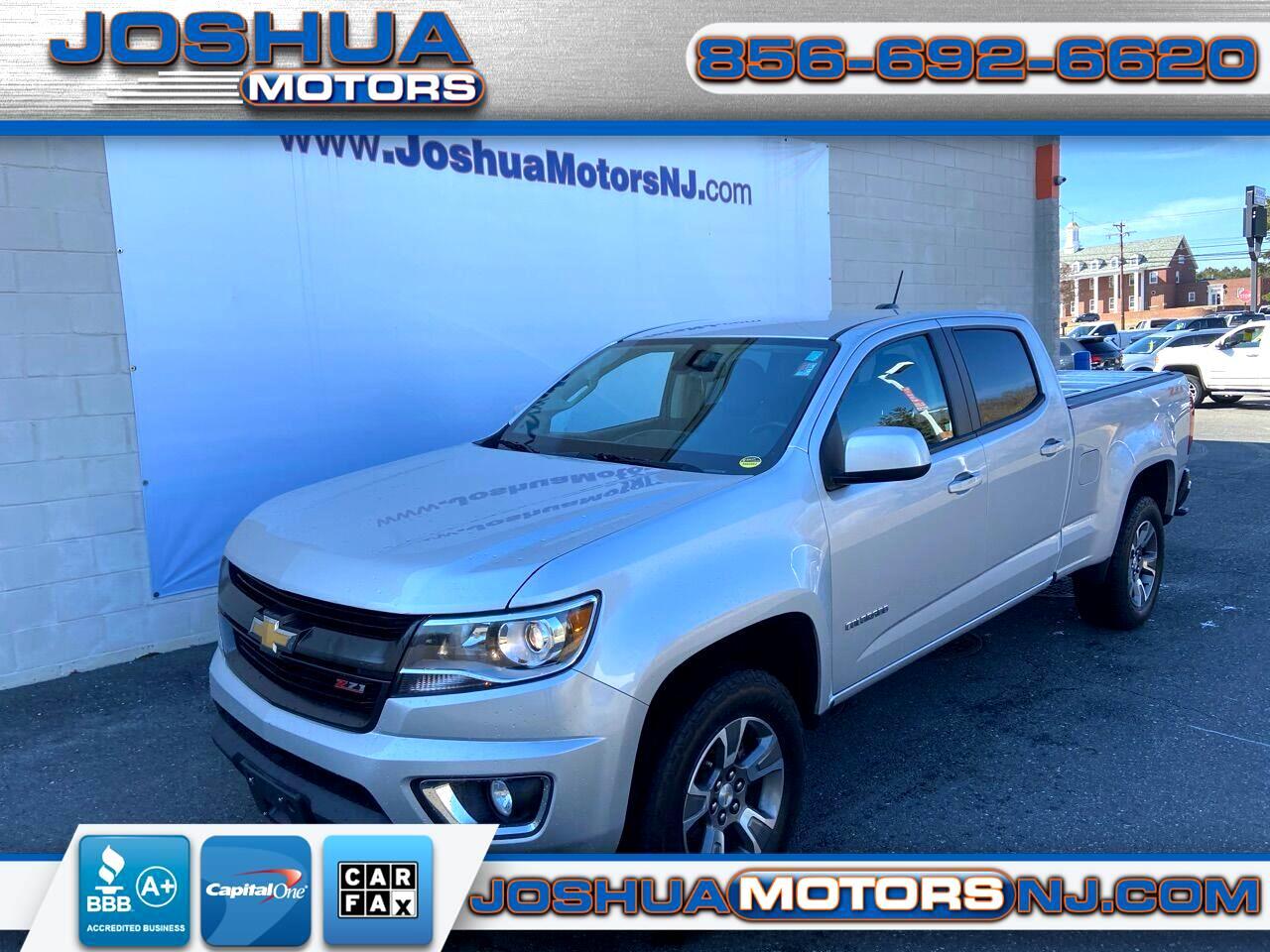 """Chevrolet Colorado 4WD Crew Cab 140.5"""" Z71 2018"""