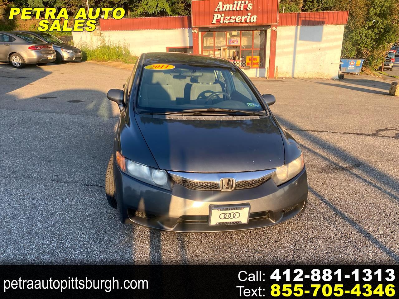 Honda Civic Sedan 4dr CVT EX 2011