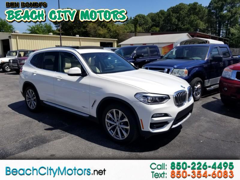2018 BMW X3 xDrive30i Sports Activity Vehicle