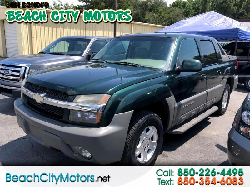 "2002 Chevrolet Avalanche 1500 5dr Crew Cab 130"" WB 2WD Z66"