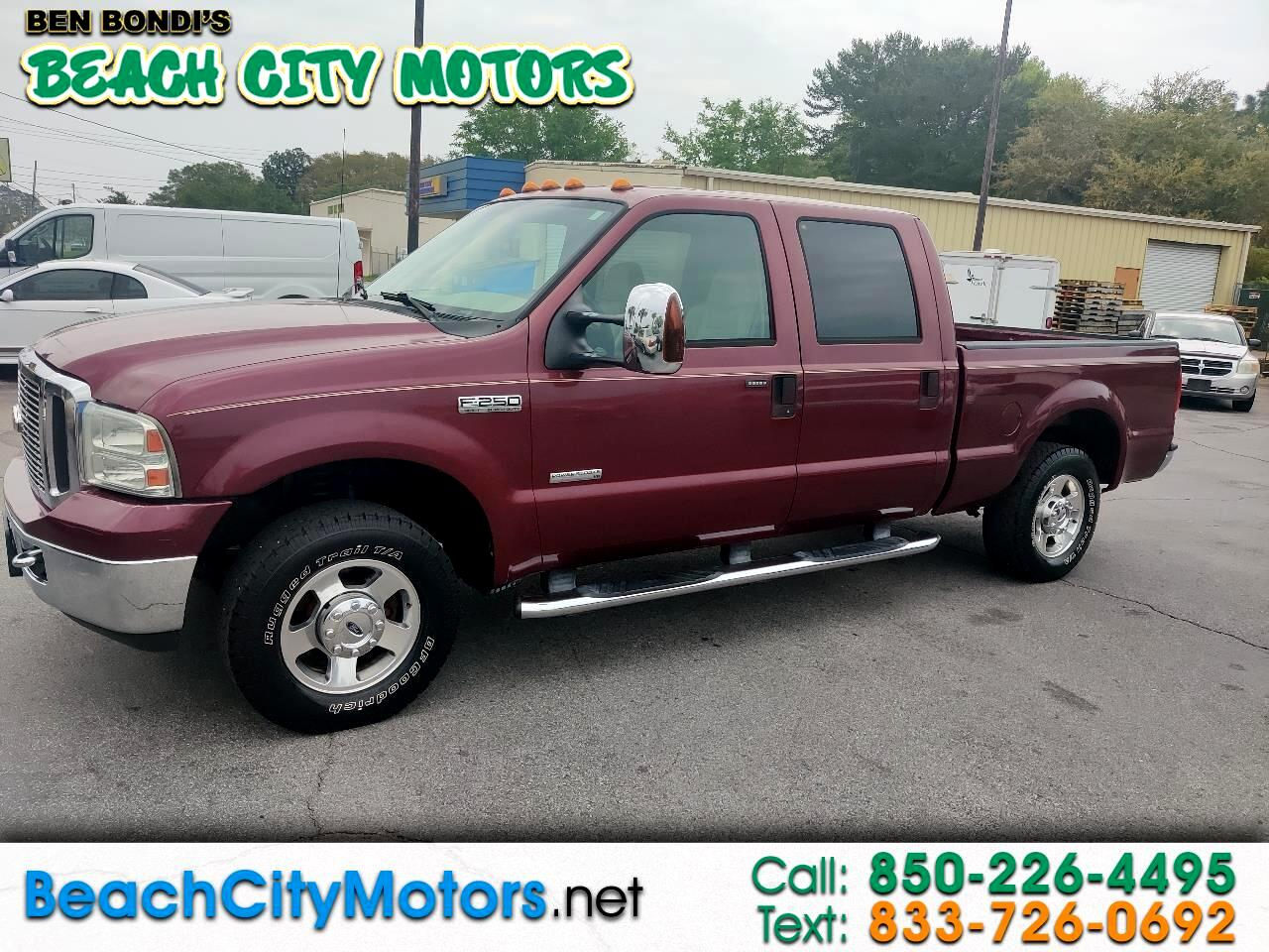 "Ford Super Duty F-250 Crew Cab 156"" Lariat 2006"