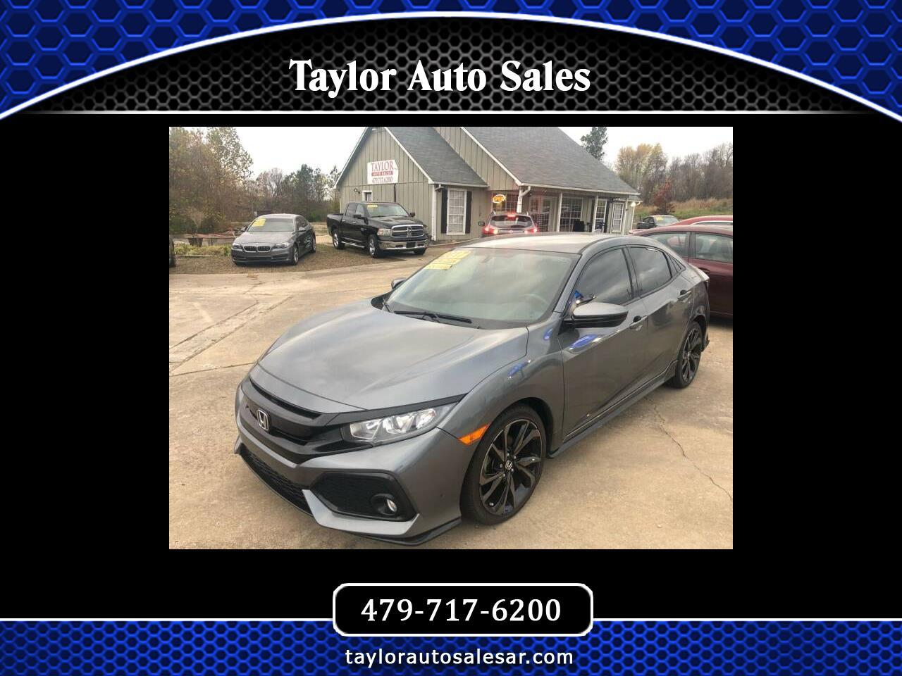 Honda Civic Hatchback Sport CVT 2017