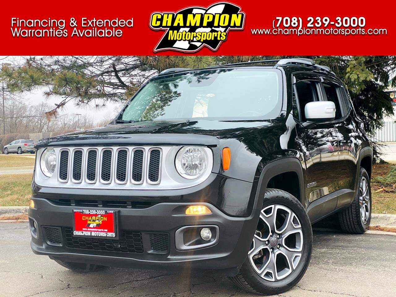 Jeep Renegade 4WD 4dr Limited 2016