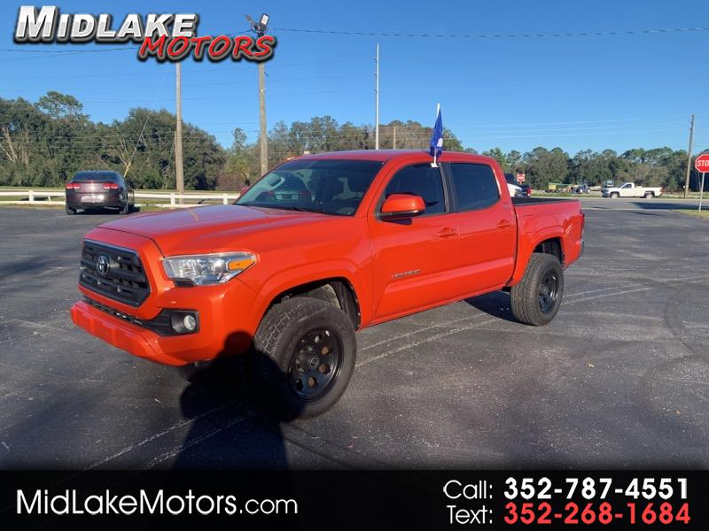 Toyota Tacoma SR5 Double Cab Long Bed V6 6AT 4WD 2016