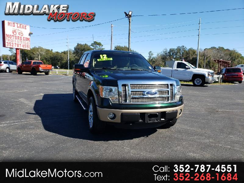 Ford F-150 Larriat Limited SuperCrew 4WD 2012
