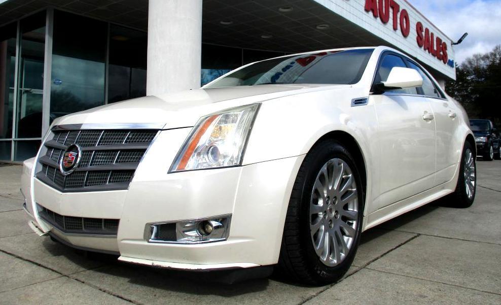 2010 Cadillac CTS Sedan PERFORMANCE COLLECTION