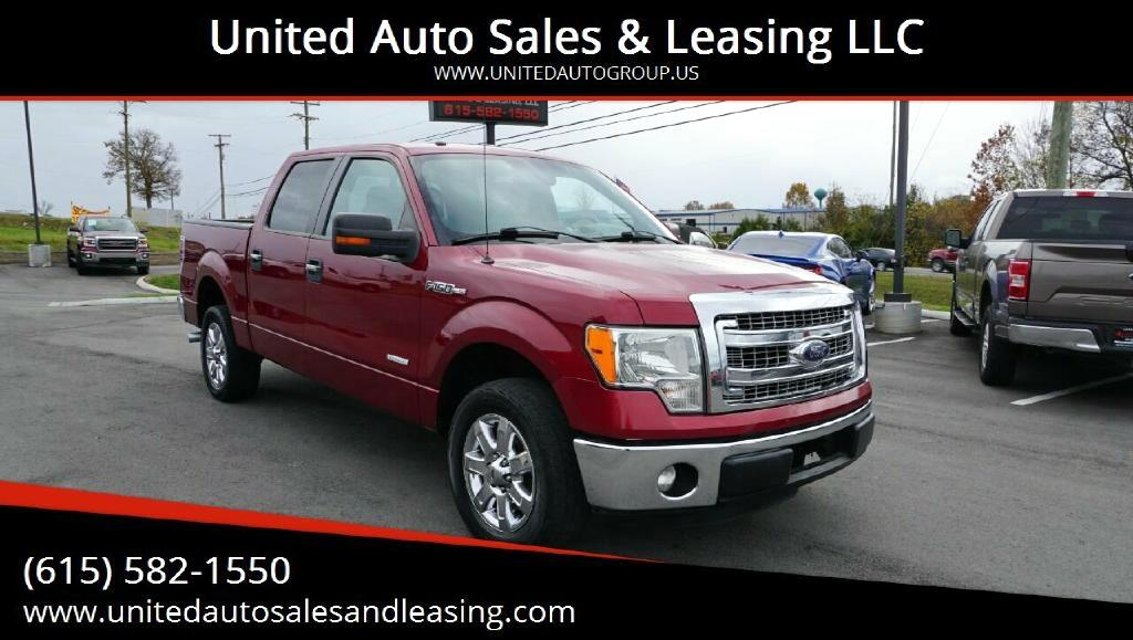 Ford F-150 XLT SuperCrew Short Bed 2WD 2013