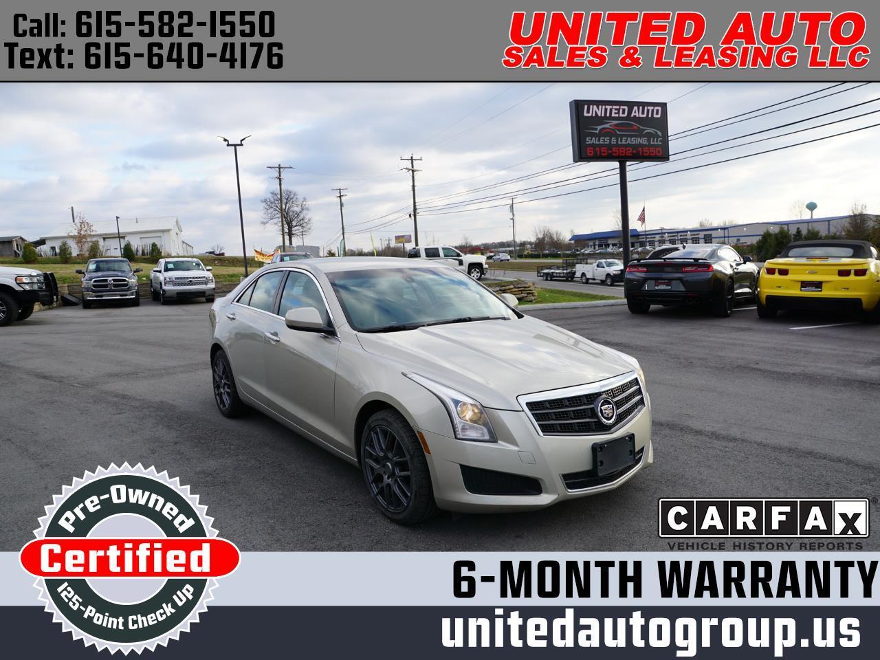 Cadillac ATS 4dr Sdn 2.0L AWD 2013