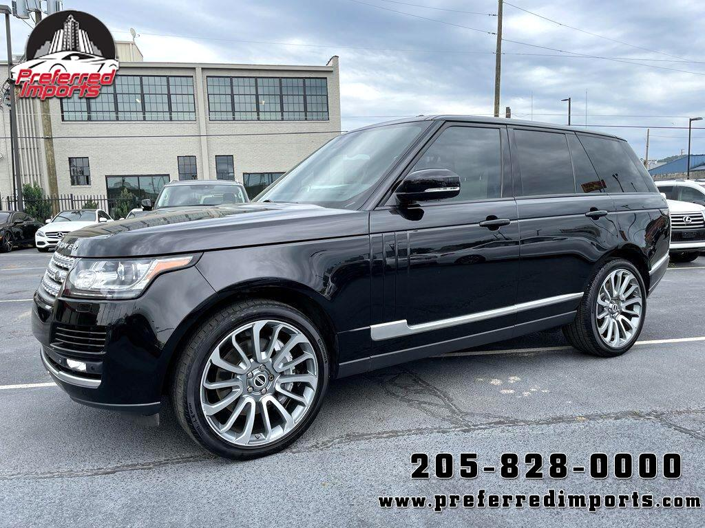2015 Land Rover Range Rover 4WD 4dr Supercharged