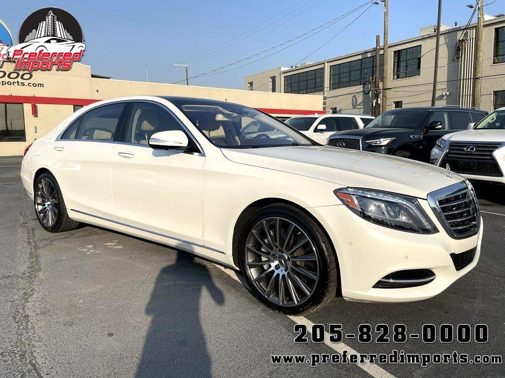 2017 Mercedes-Benz S-Class S 550 Sedan