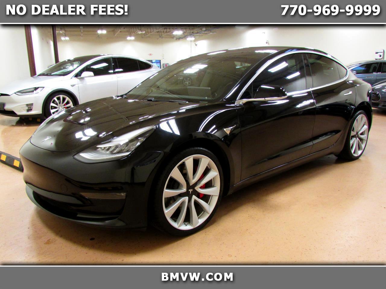 Tesla Model 3 Performance AWD 2019