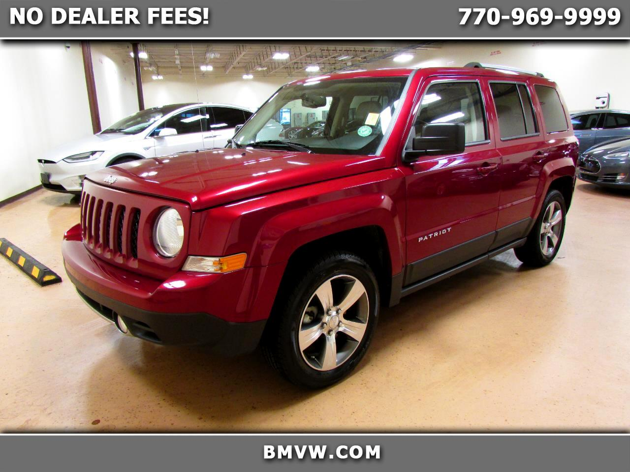 Jeep Patriot FWD 4dr High Altitude Edition 2016