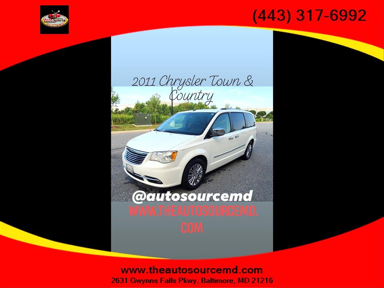 2011 Chrysler Town & Country Extended Passenger Van Limited 3.6L V6