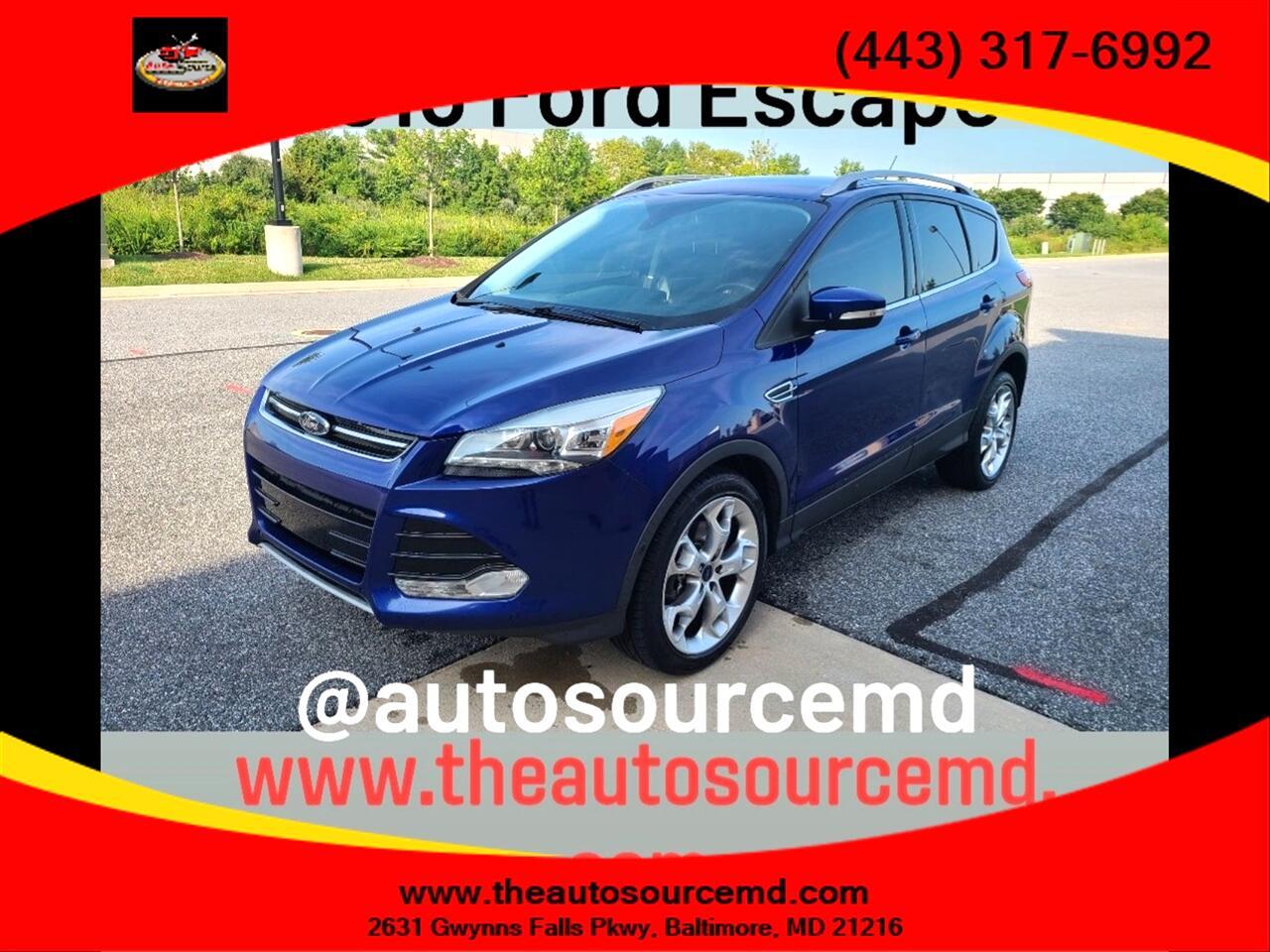 2015 Ford Escape Utility 4D Titanium EcoBoost 2.0L I4 Turbo