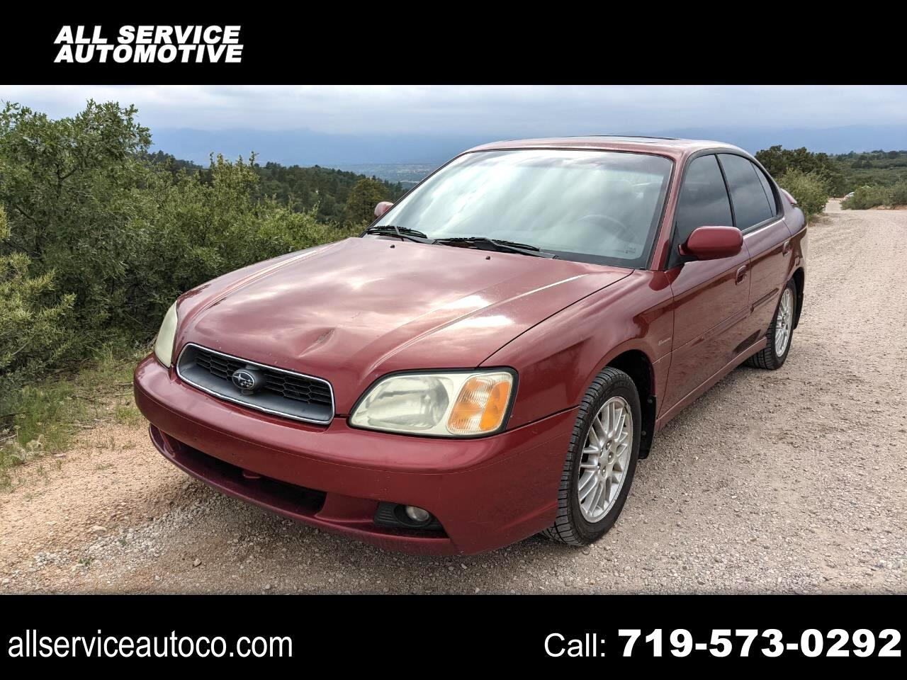 2004 Subaru Legacy Sedan (Natl) 4dr L Auto