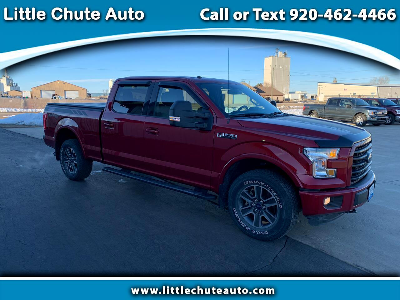 "Ford F-150 SuperCrew Crew Cab 139"" XLT 2016"