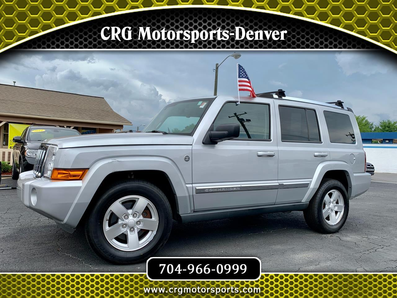 Jeep Commander 4WD 4dr Limited 2007