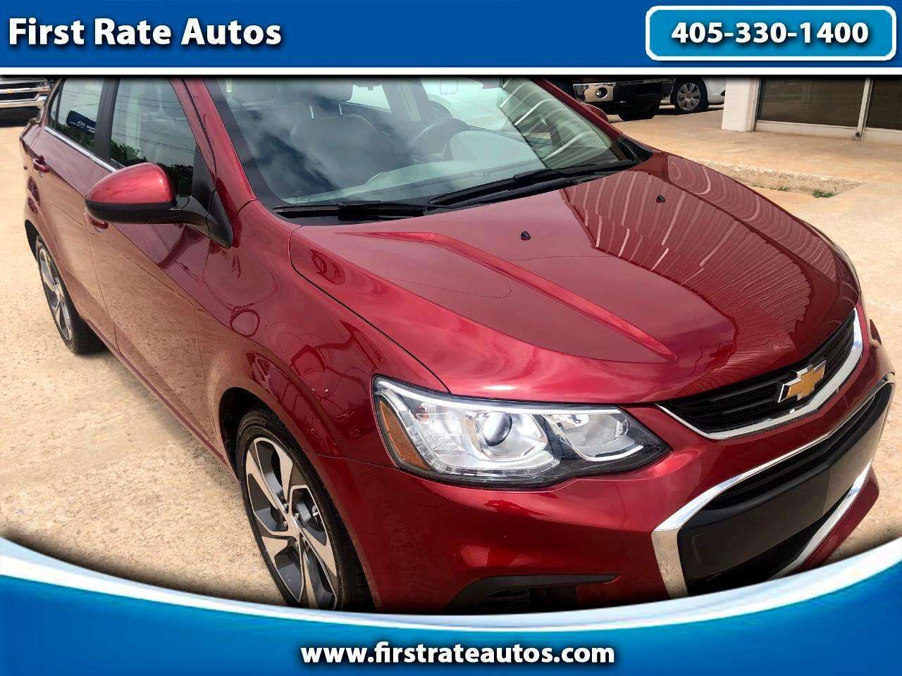 2019 Chevrolet Sonic 4dr Sdn Auto Premier