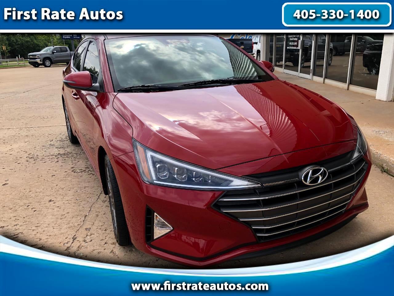 2020 Hyundai Elantra Limited IVT