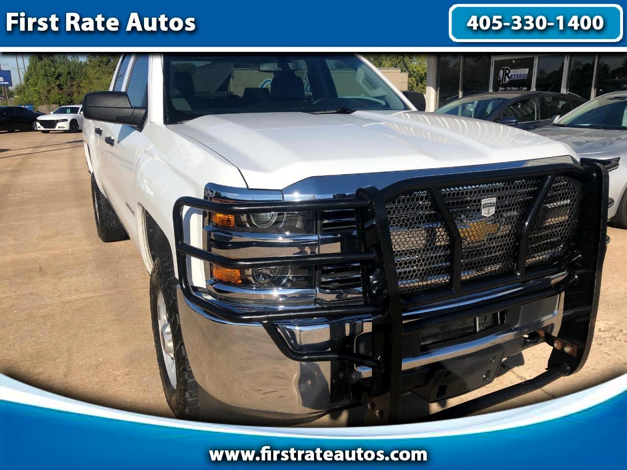"2015 Chevrolet Silverado 2500HD 4WD Double Cab 144.2"" Work Truck"