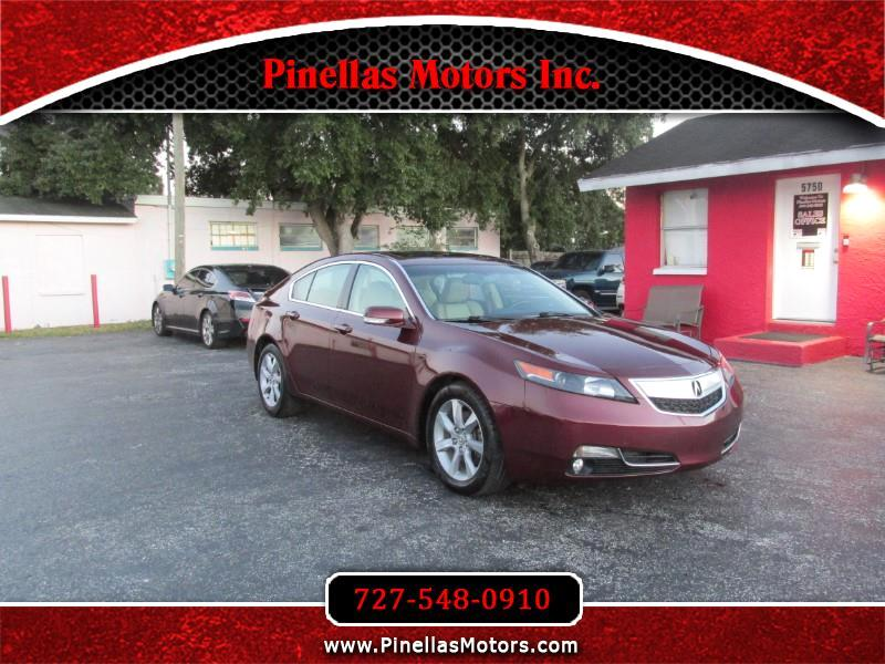 2012 Acura TL Auto with Tech Package