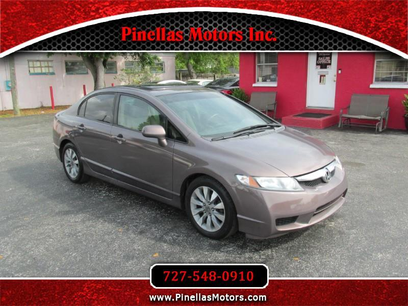 2010 Honda Civic EX-L Sedan 5-Speed AT with Navigation