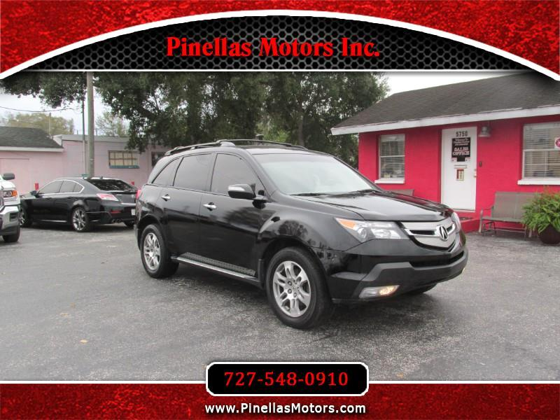 Acura MDX Tech Package with Rear DVD System 2008