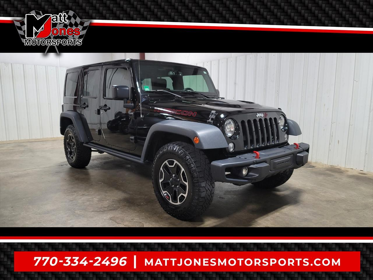 2015 Jeep Wrangler Unlimited 4WD 4dr Rubicon Hard Rock
