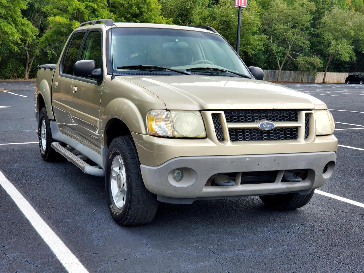 "Ford Explorer Sport Trac 4dr 126"" WB 2001"
