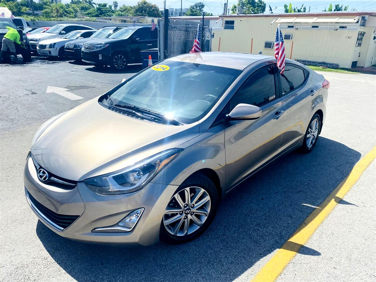 2014 Hyundai Elantra 4dr Sdn Auto SE (Alabama Plant)