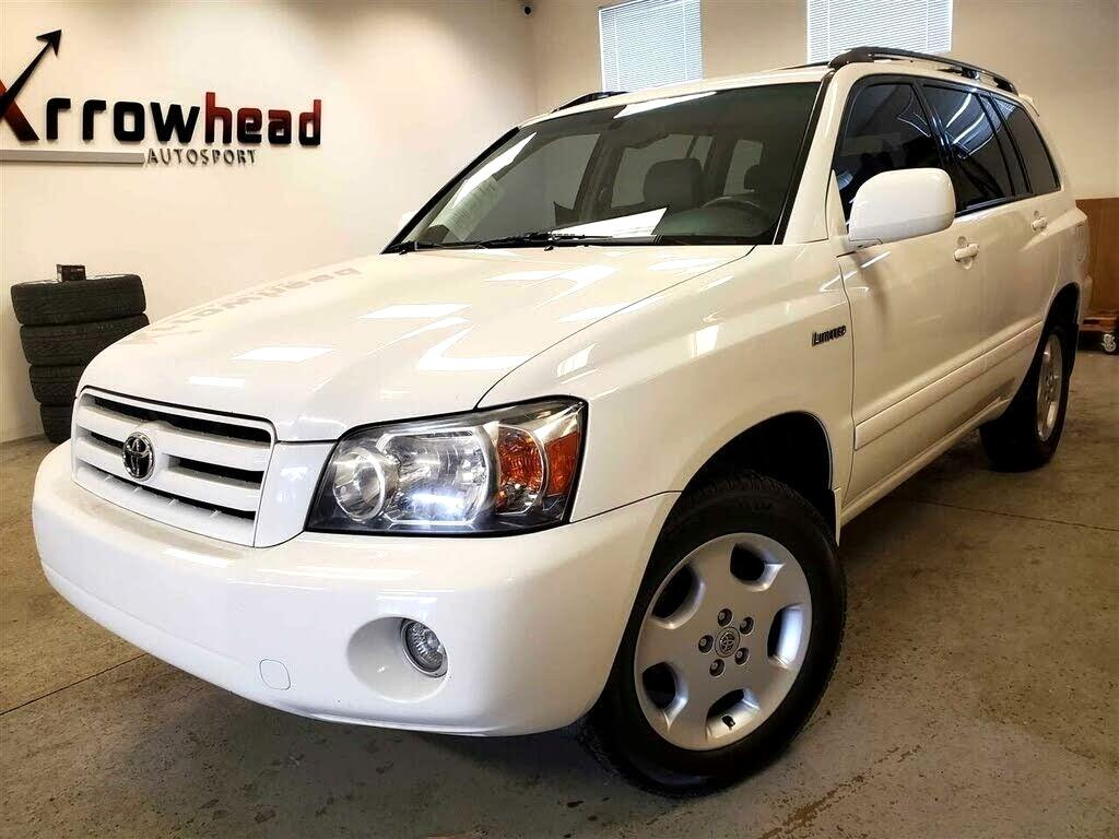 Toyota Highlander 4dr V6 4WD Limited w/3rd Row (Natl) 2005