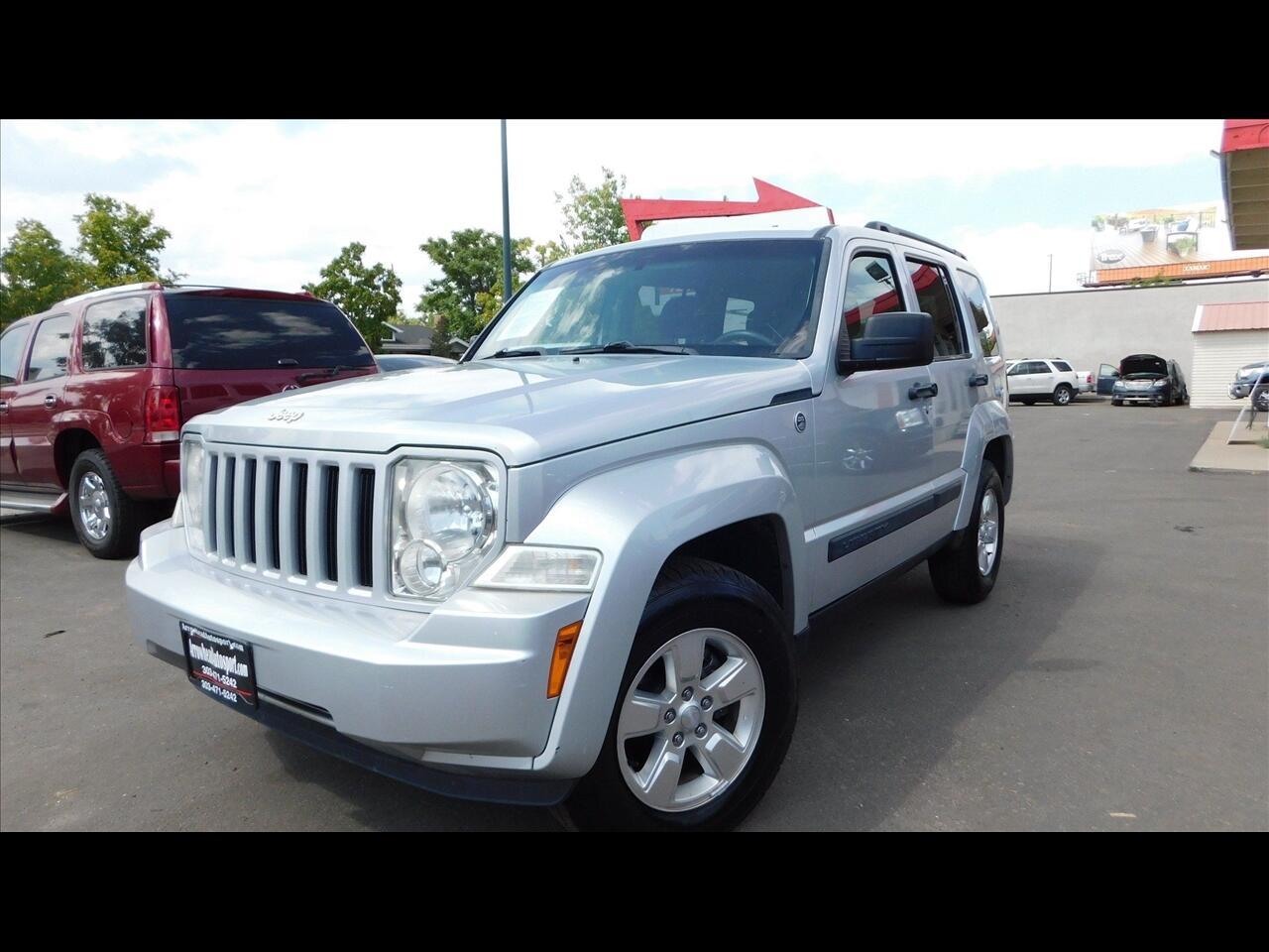 Jeep Liberty Sport 4WD 2012