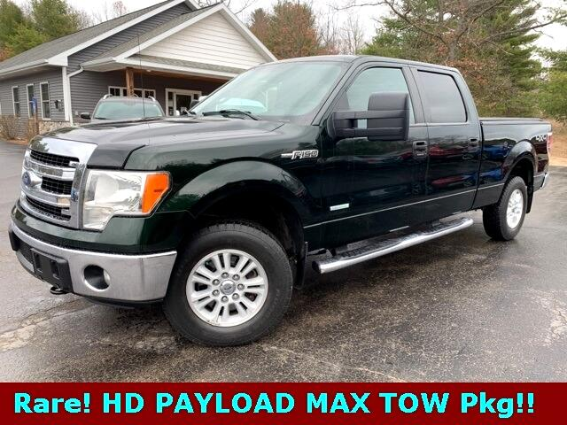 "Ford F-150 4WD SuperCrew 157"" XL w/HD Payload Pkg 2013"