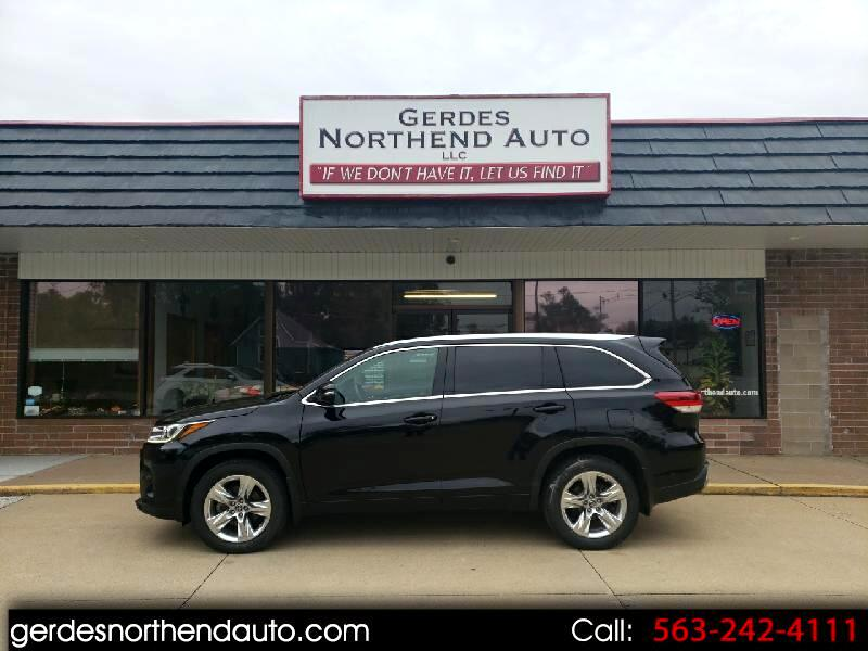 Toyota Highlander Limited AWD V6 2018