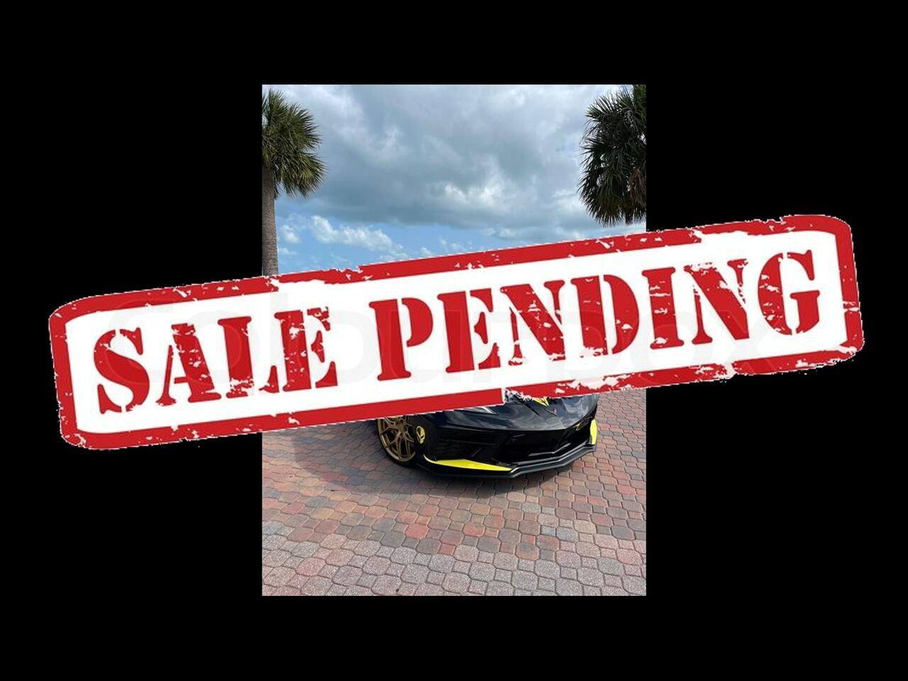 2020 Chevrolet Corvette Stingray Coupe 2D
