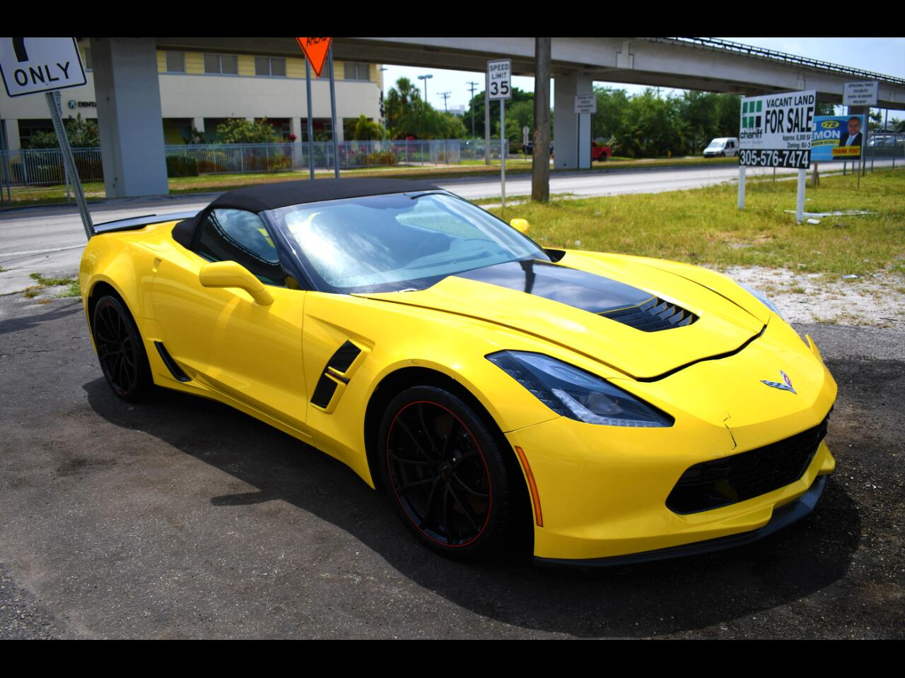 2019 Chevrolet Corvette Grand Sport Preferred w/2LT Convertible Manual