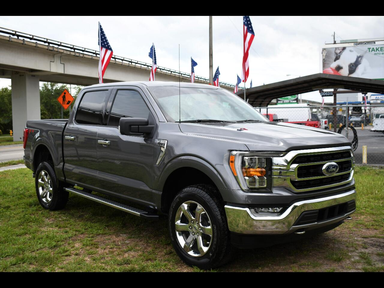 2021 Ford F-150 XL SuperCrew 6.5-ft. Bed 4WD