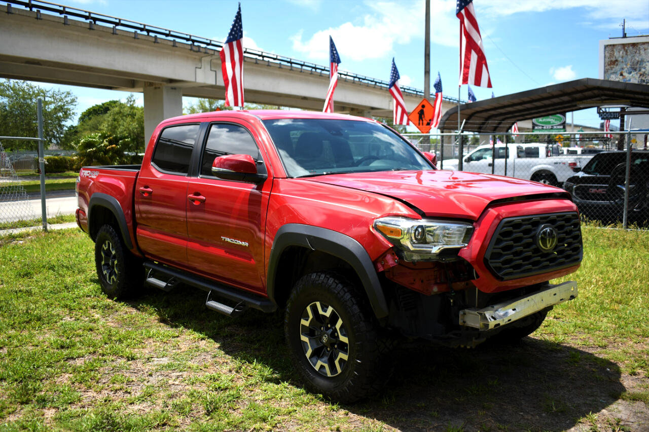 2020 Toyota Tacoma SR5 Double Cab Long Bed V6 6AT 4WD
