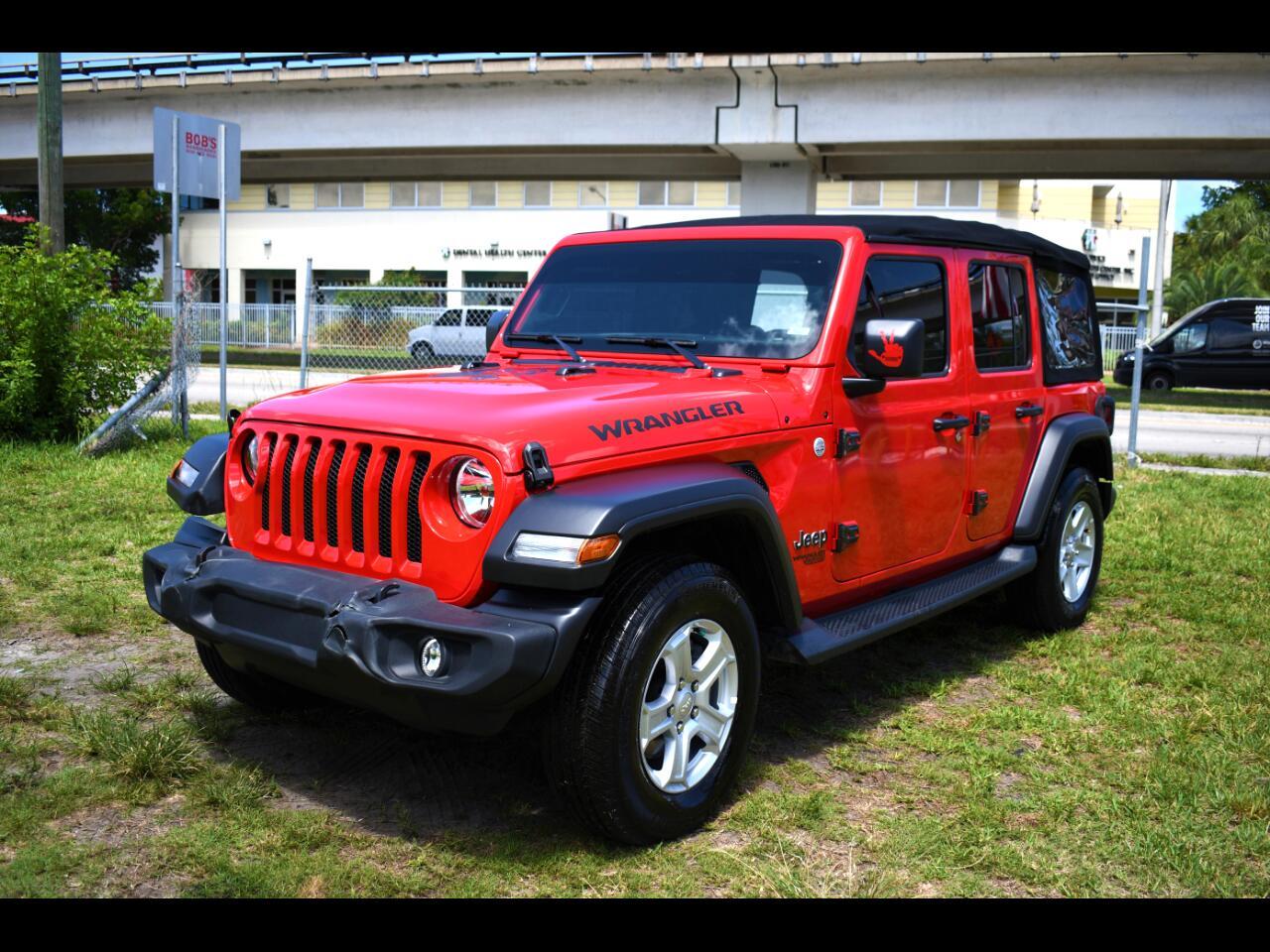 2021 Jeep Wrangler Unlimited Sport