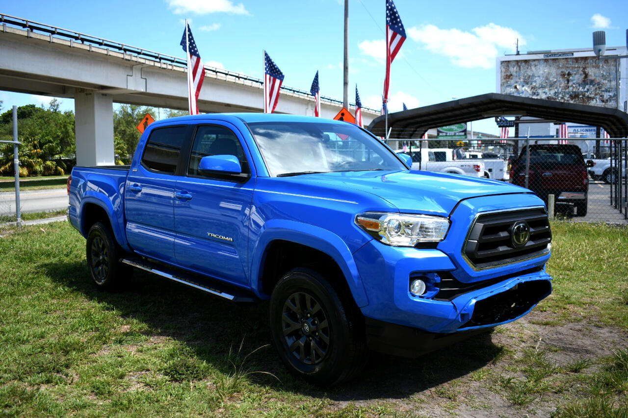 2020 Toyota Tacoma SR5 Double Cab Long Bed V6 6AT 2WD