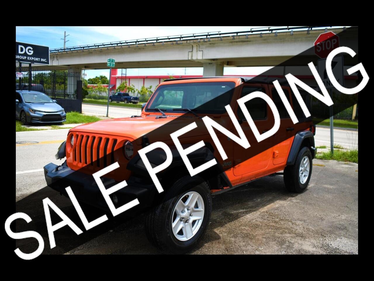 2019 Jeep Wrangler Sport S Sport Utility 4D