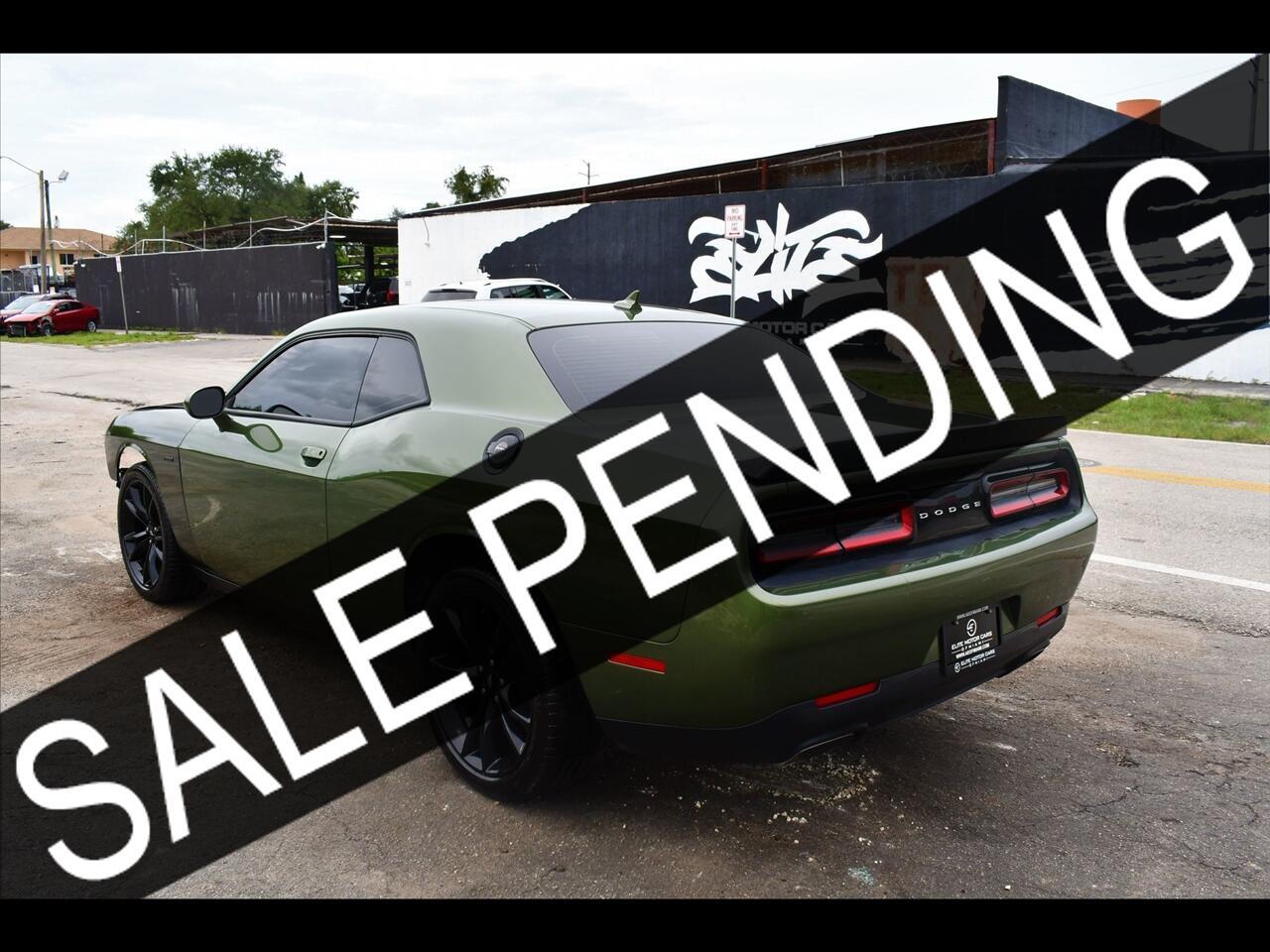 2018 Dodge Challenger R/T Plus Coupe 2D