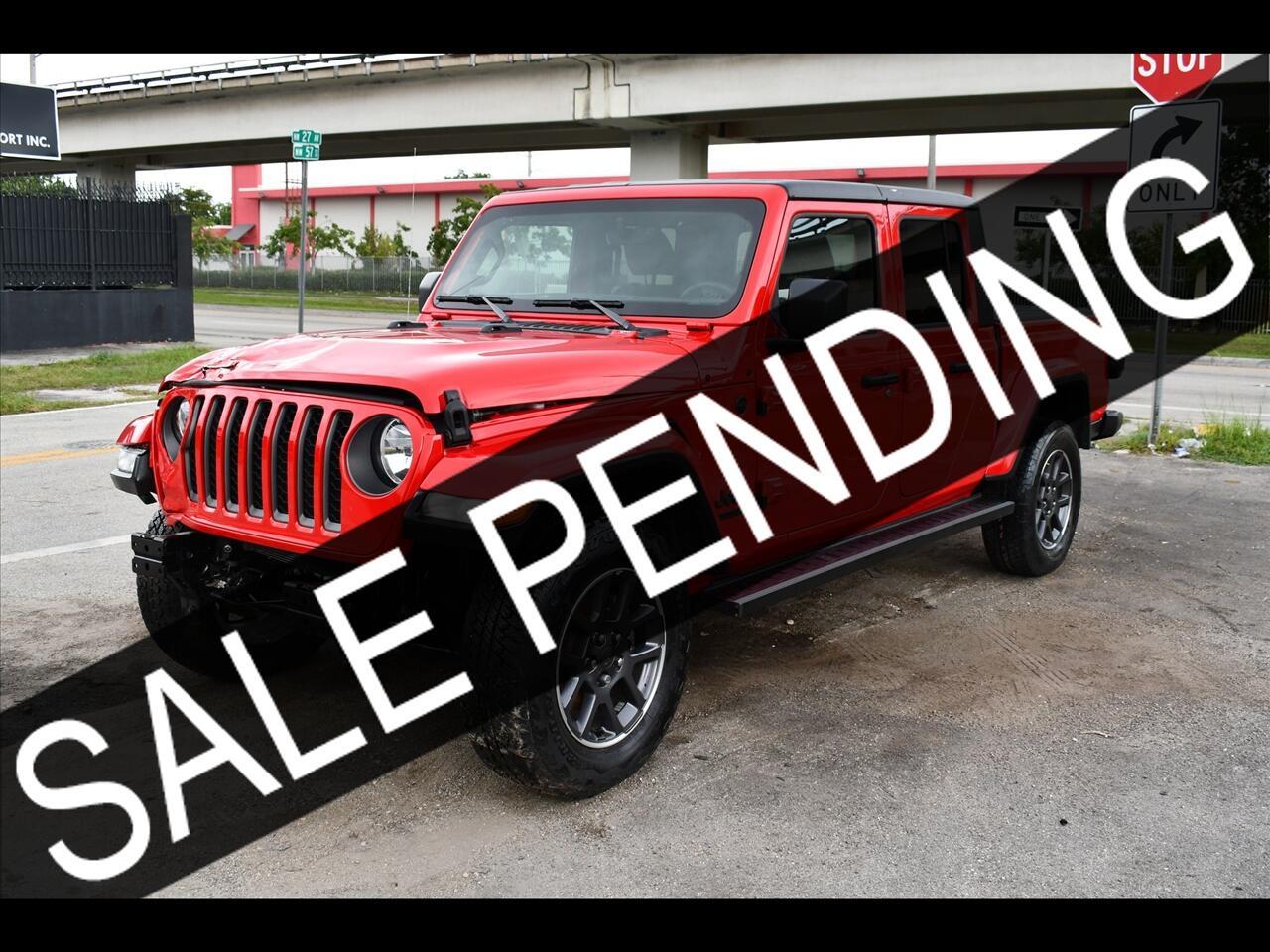2021 Jeep Gladiator Sport Pickup 4D 5 ft