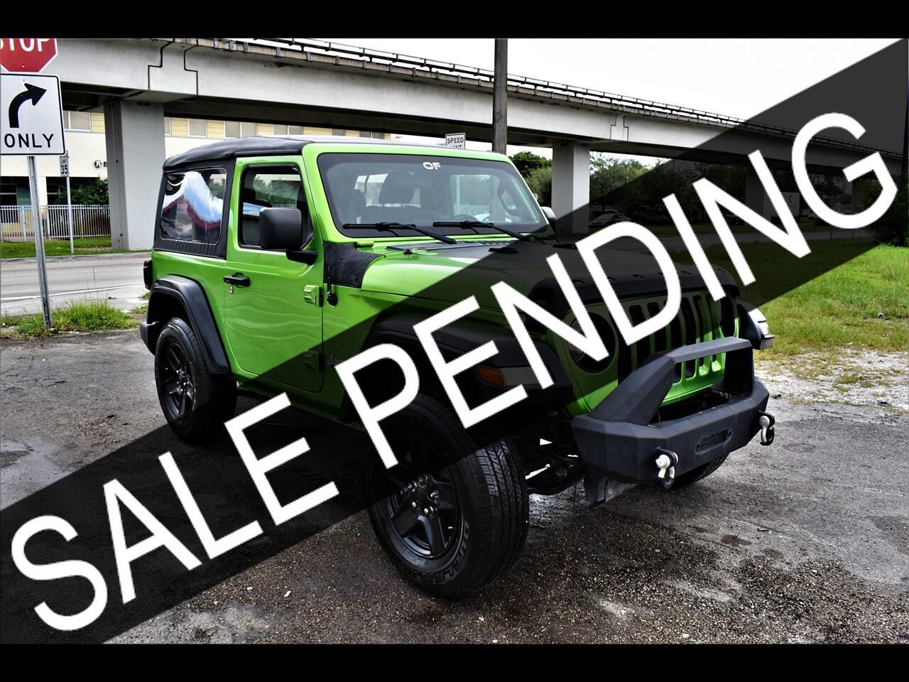 2018 Jeep Wrangler All New Sport SUV 2D